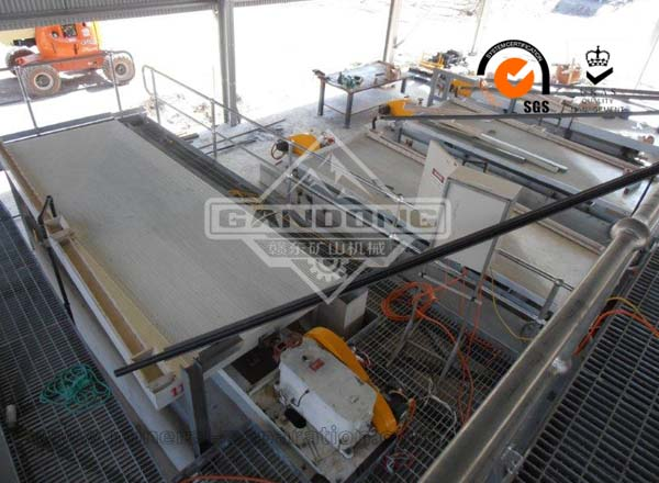Wolframite Ore Gravity Production Line